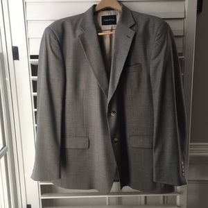 LORD & TAYLOR NAUTICA wool suit jacket 46R